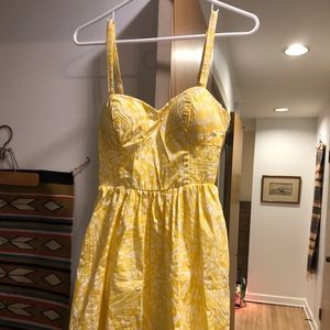 Lilly Pulitzer Yellow Dress